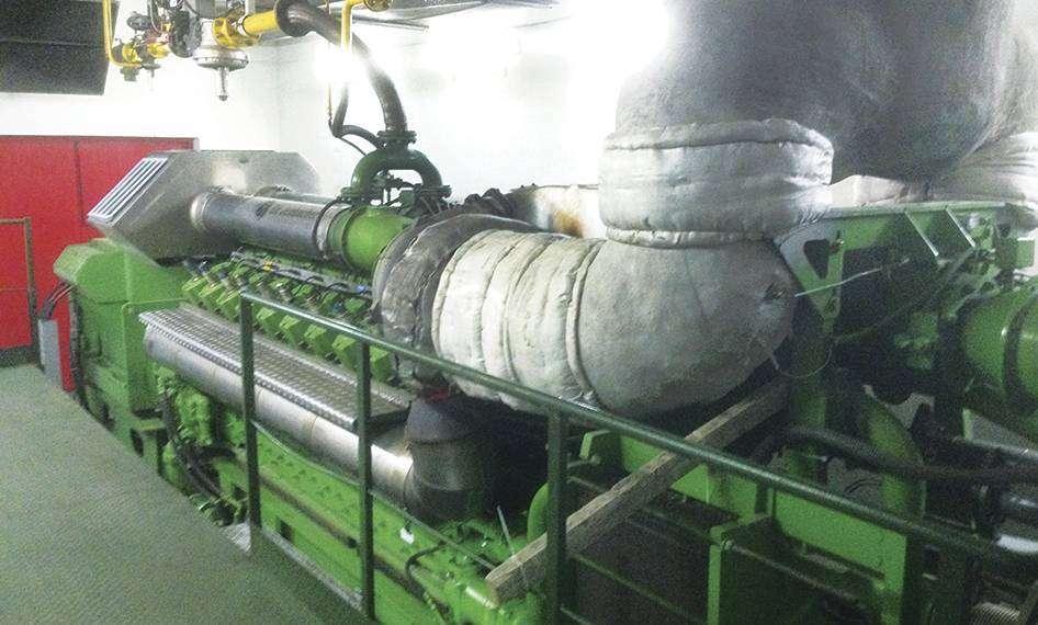 Газопоршневая электростанция GE Jenbacher J 624, характеристики
